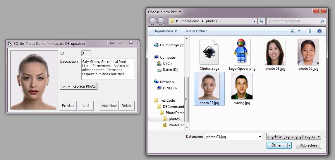VB6 SQLite DB-Demos (based on the RichClient-Framework)-VBForums